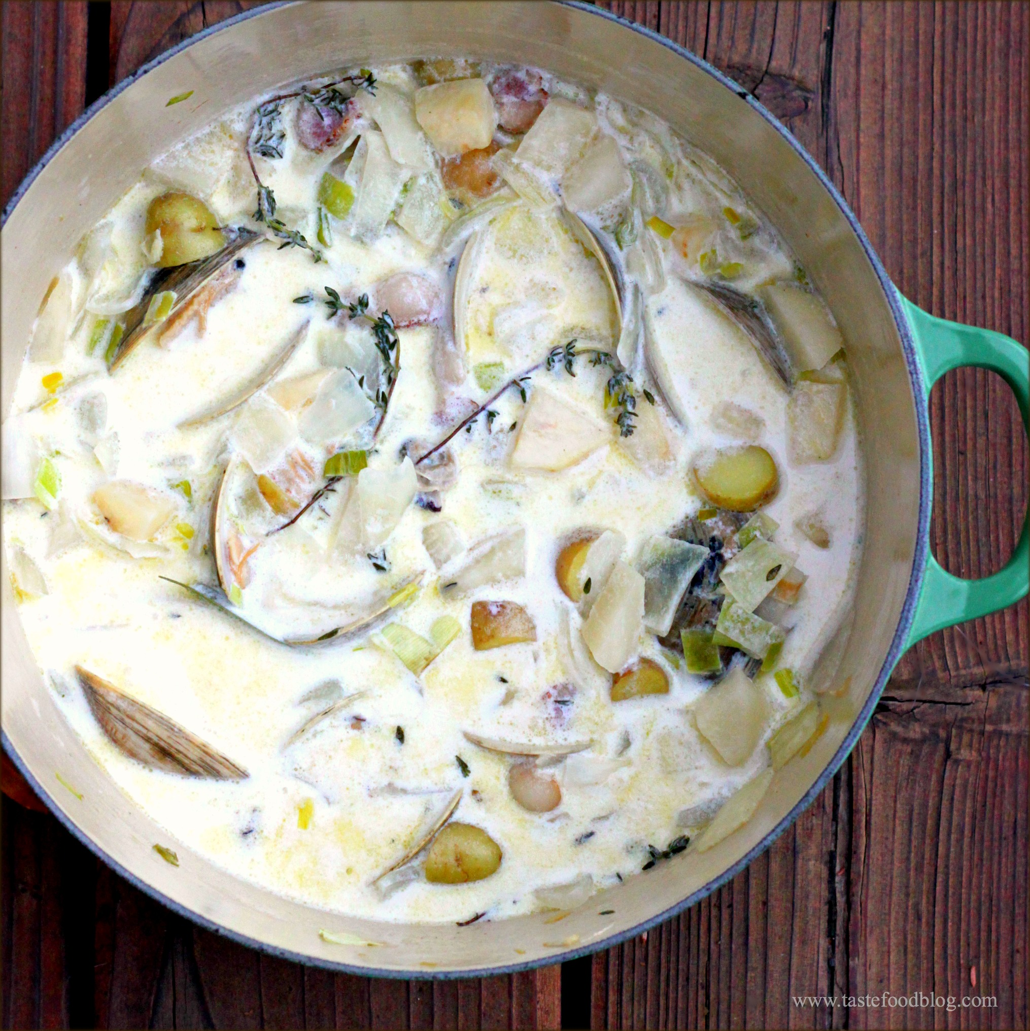 Clam Chowder – TasteFood