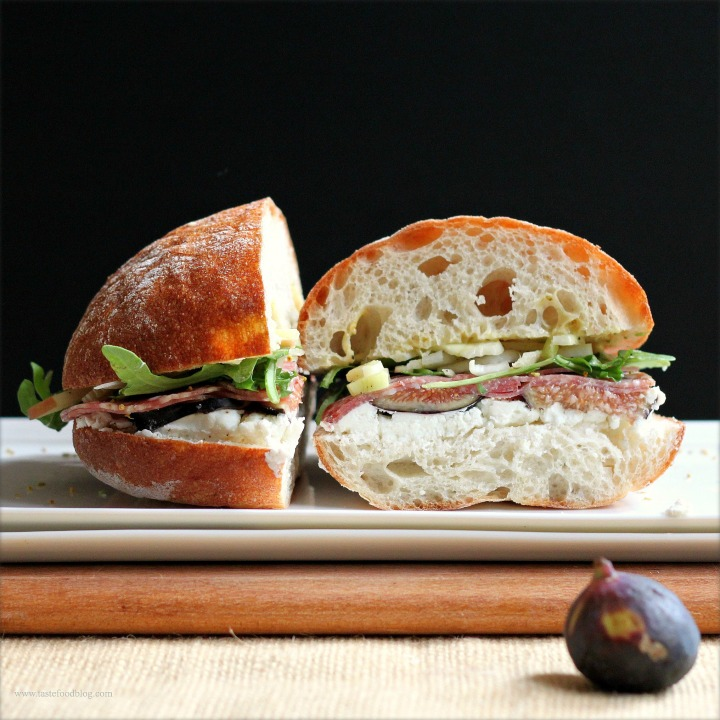 Salame, Figs, Fennel and a Sandwich Showdown
