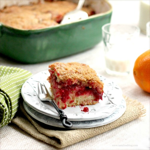 Cranberry Cake TasteFood