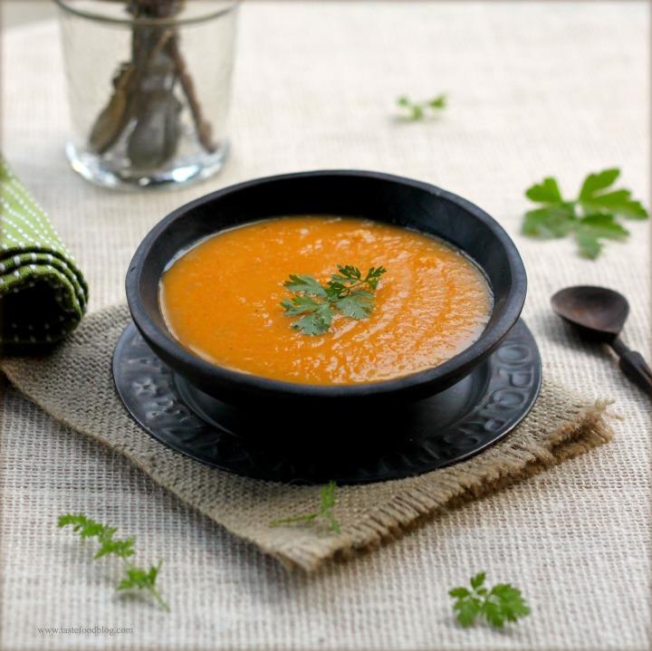 Spicy Butternut Squash (or Pumpkin)Soup