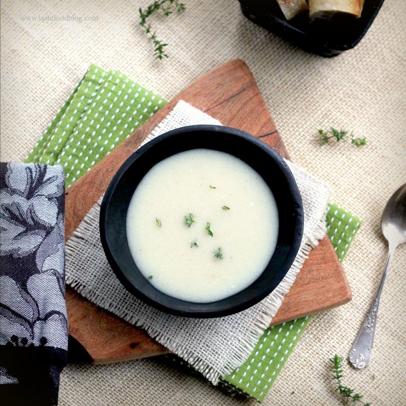 Cauliflower Potato Soup TasteFood