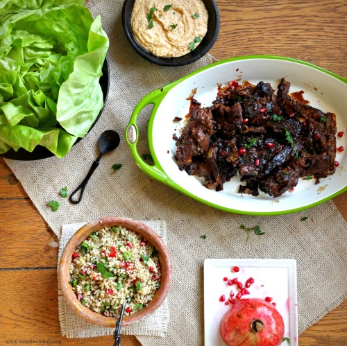 Lamb Pomegranate TasteFood