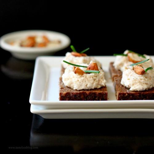 Hors d oeuvre tastefood for Smoked trout canape
