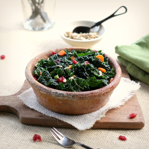 Kale Carrot Salad 1