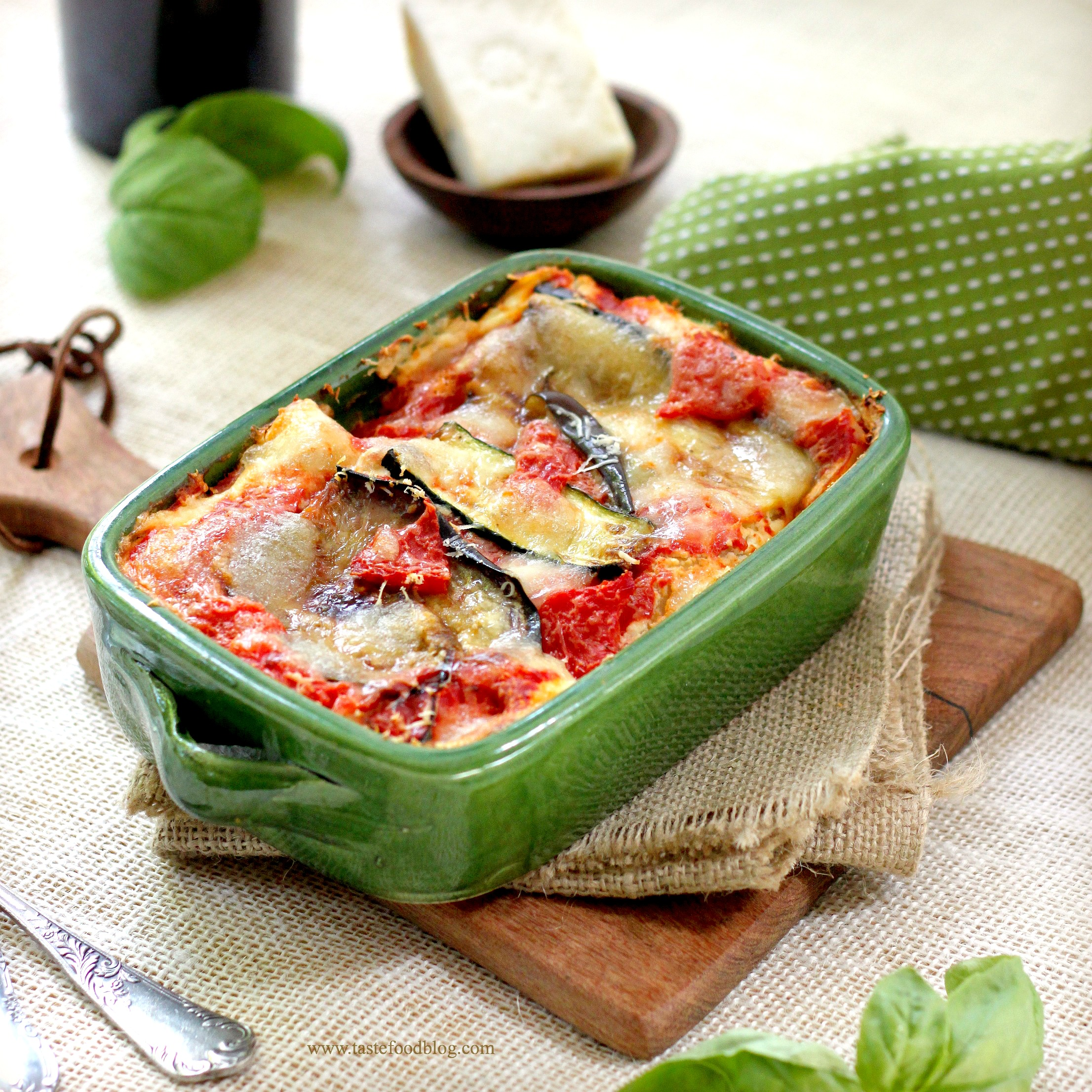 Roasted Vegetable Lasagna | TasteFood