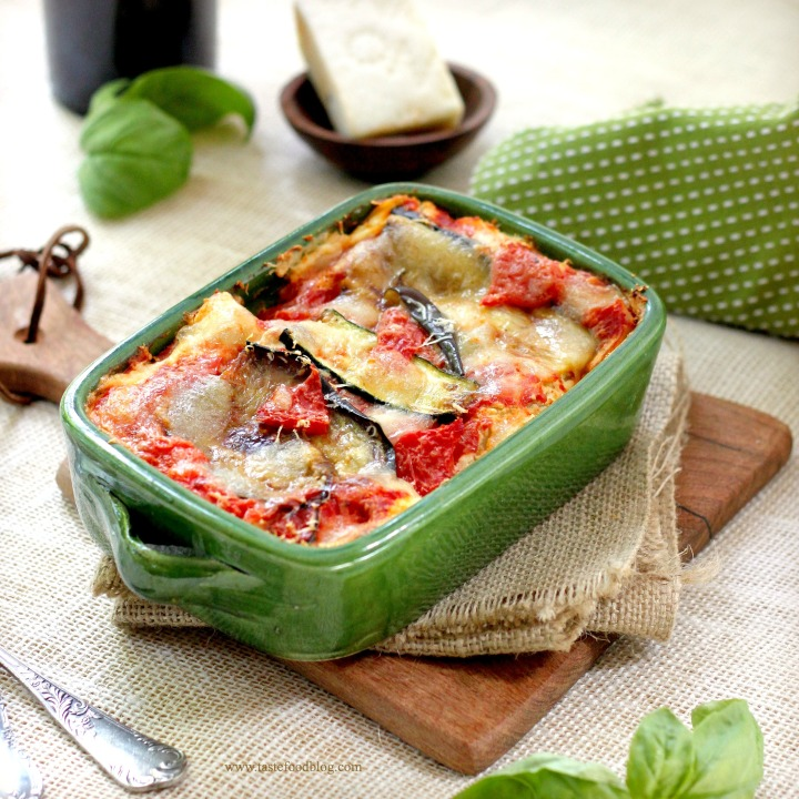 vegetable lasagna tastefood