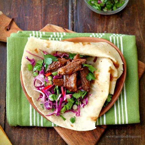 chipotle beef taco tastefood