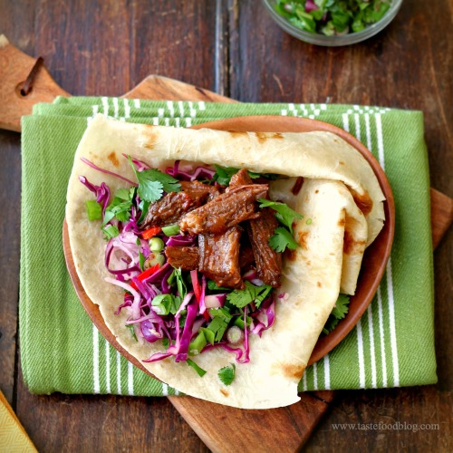 Chipotle Beef Short Rib Tacos | TasteFood