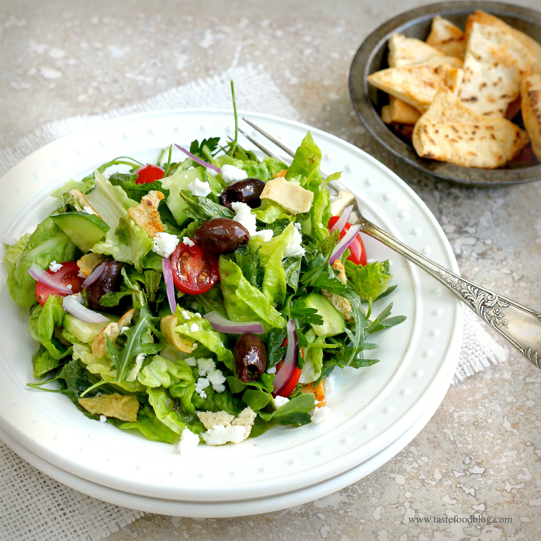 Fattoush Recipe — Dishmaps