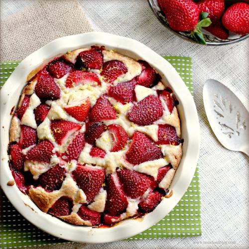 Strawberry Cake Martha Stewart