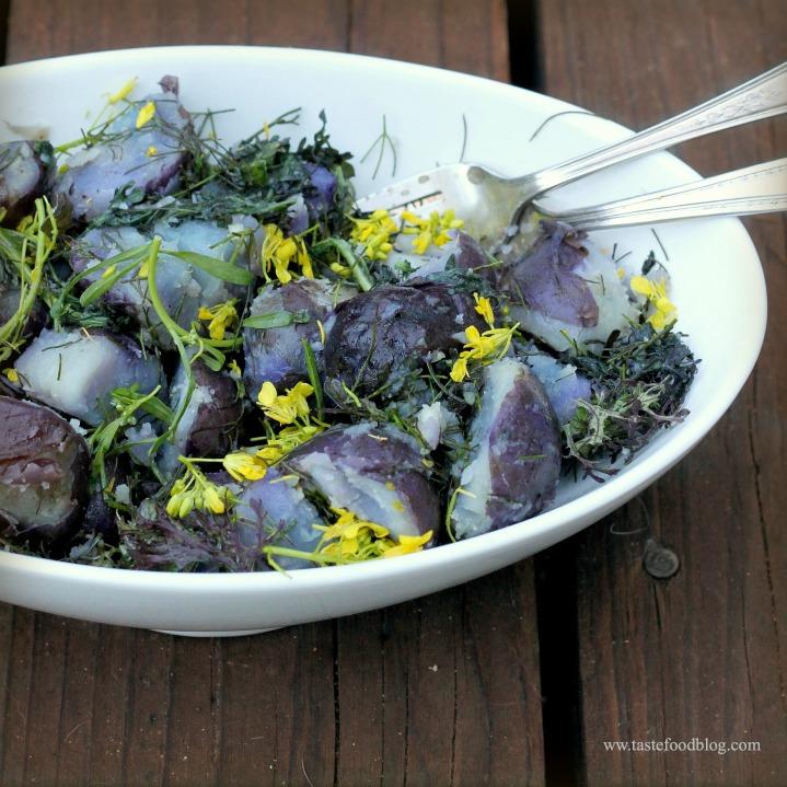 blue potatoes tastefood