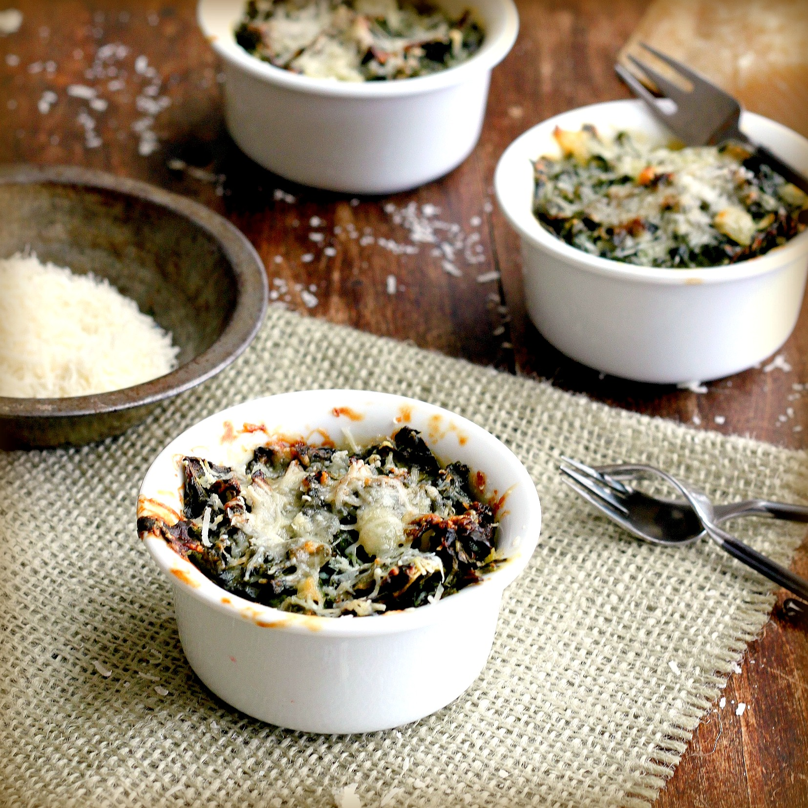 Broccoli And Blue Cheese Gratin Recipe — Dishmaps