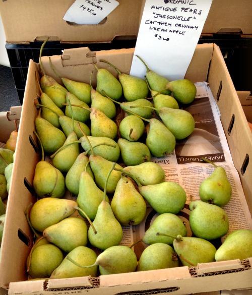 Pears market