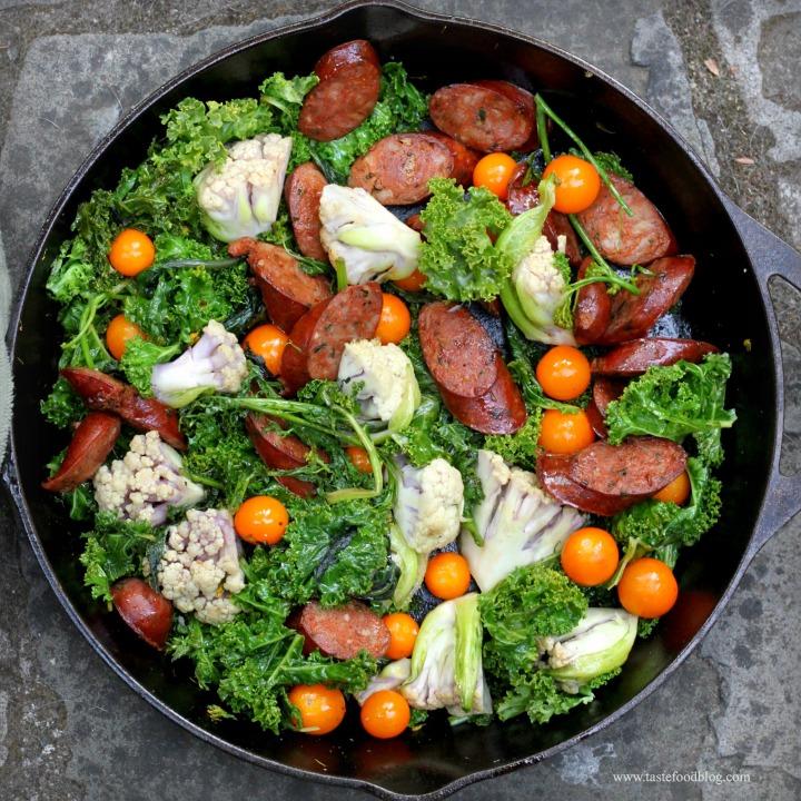 sausage greens tastefood