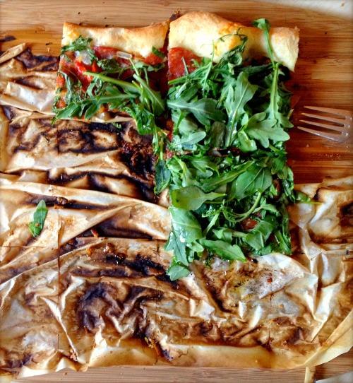 arugula pizza paper