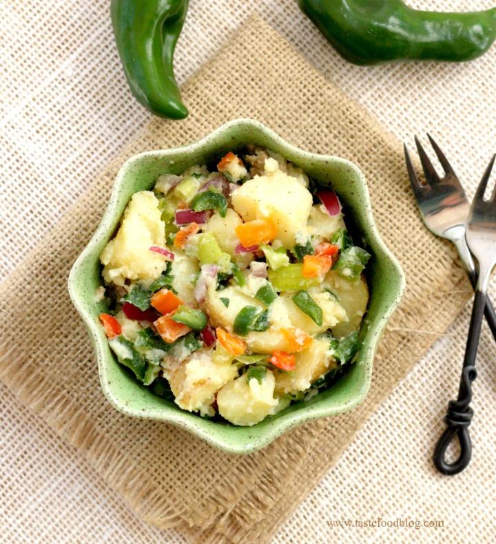 pepper potatoes tastefood