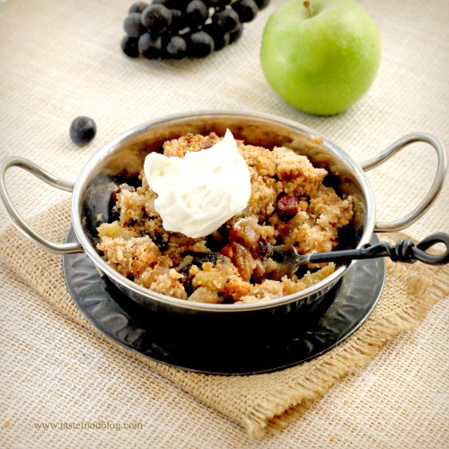 apple raisin crisp tastefood