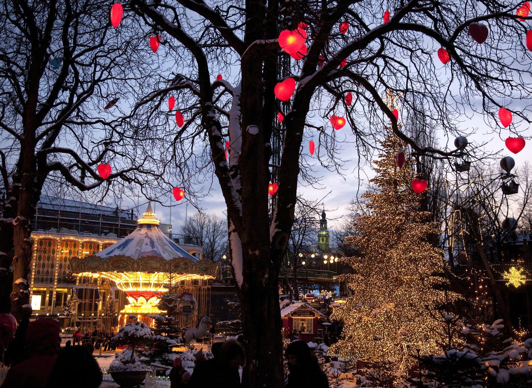 Коледа в Тиволи, Копенхаген