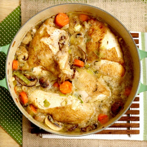 Braised Chicken Wine