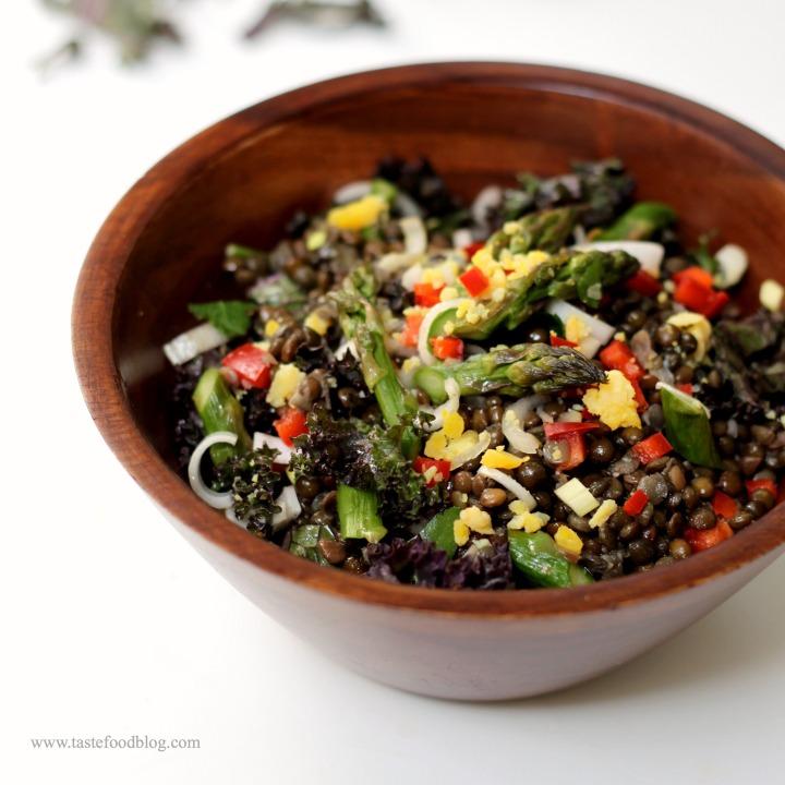 black lentils bowl tastefood