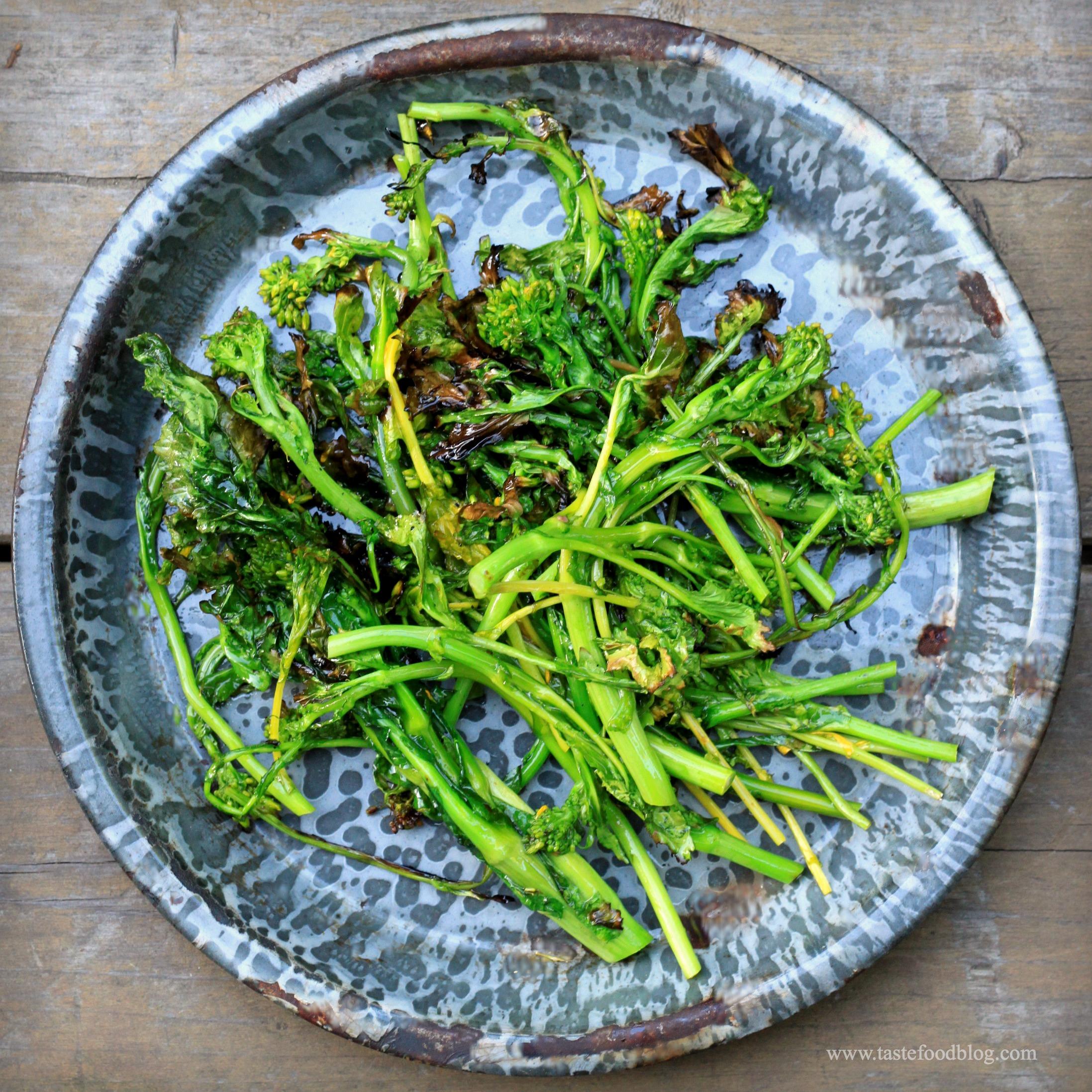 Grilled Broccoli Rabe   TasteFood