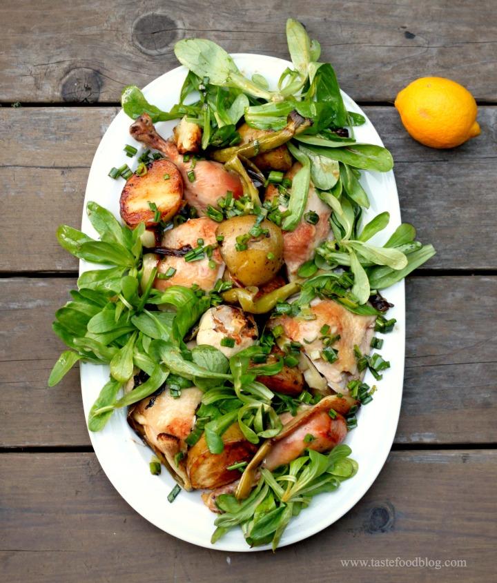 chicken platter tastefood
