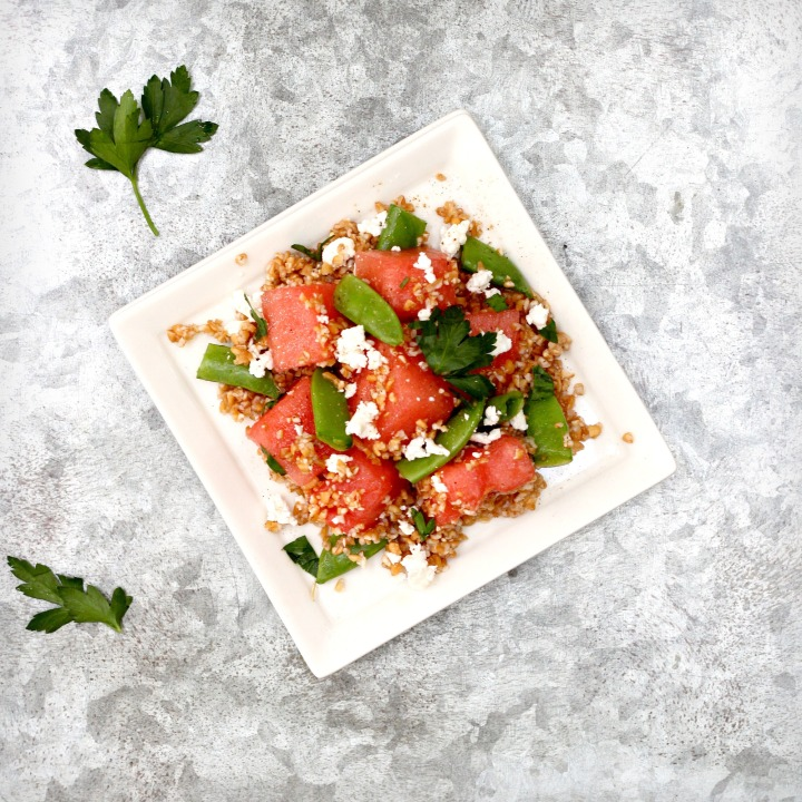 Watermelon feta