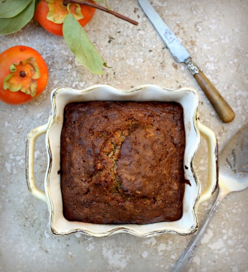 persimmon olive oil teacake the sweet and mild persimmon adds