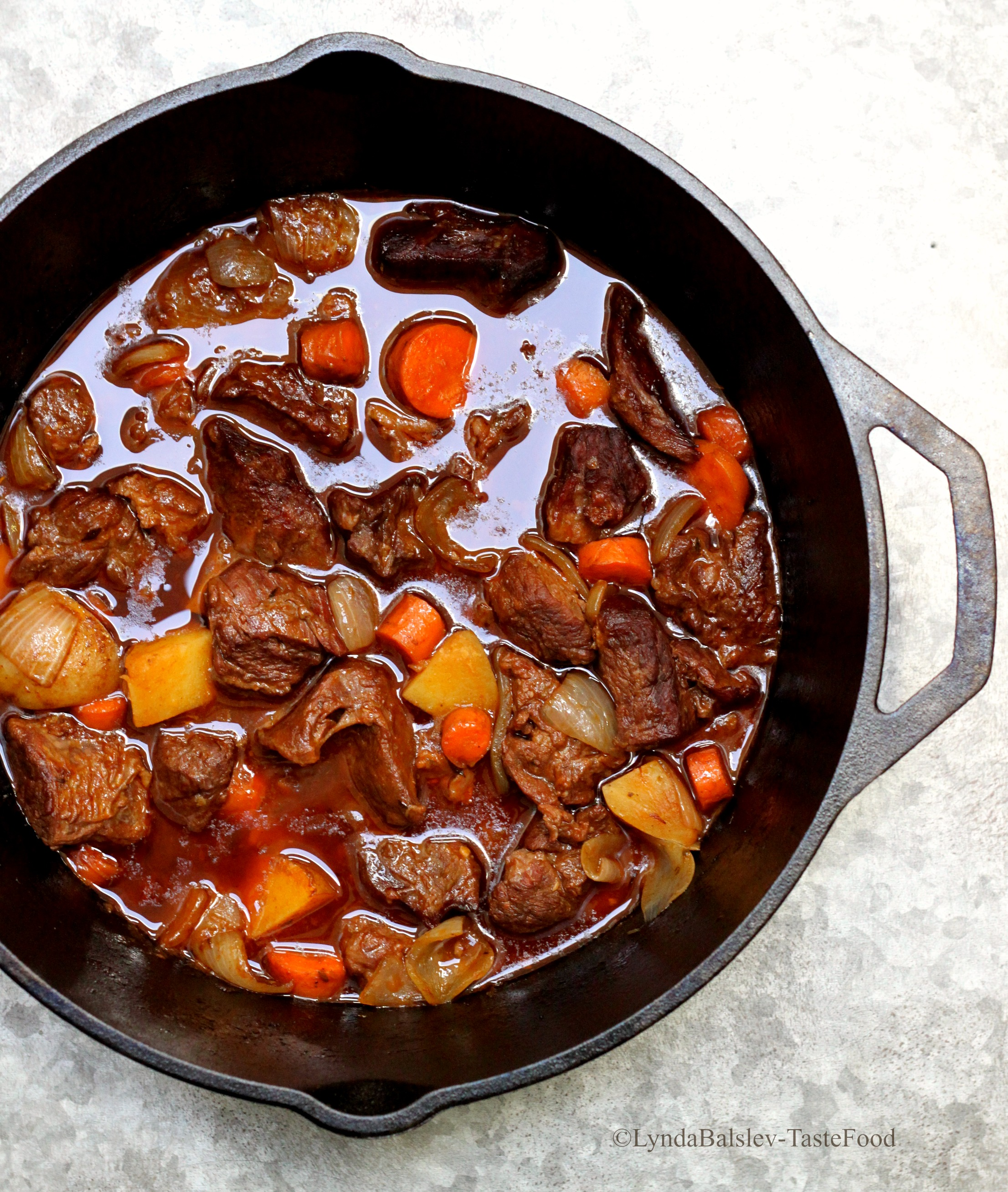 How to make a simple beef stew