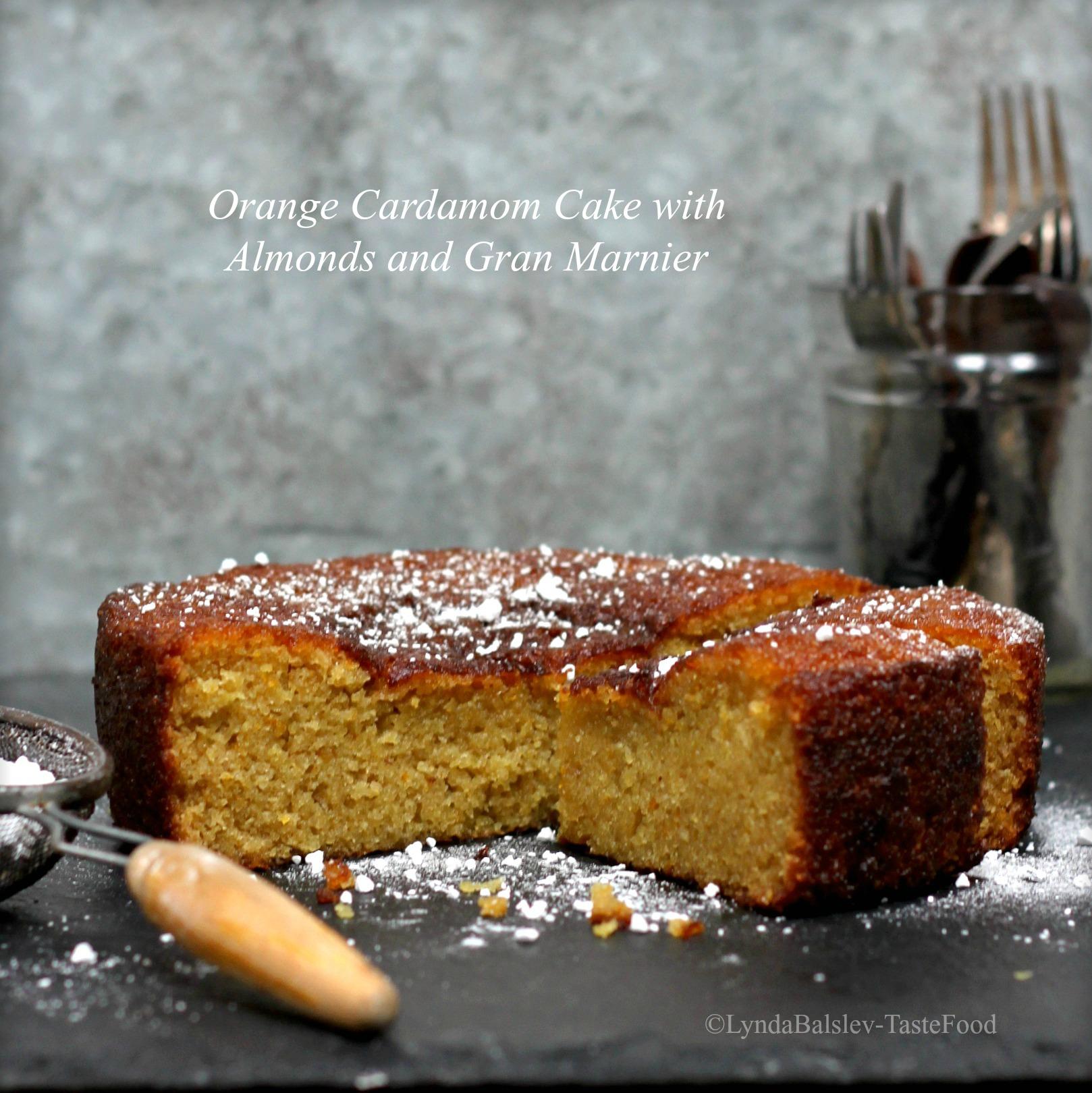 Almond Tree Cake Tomang