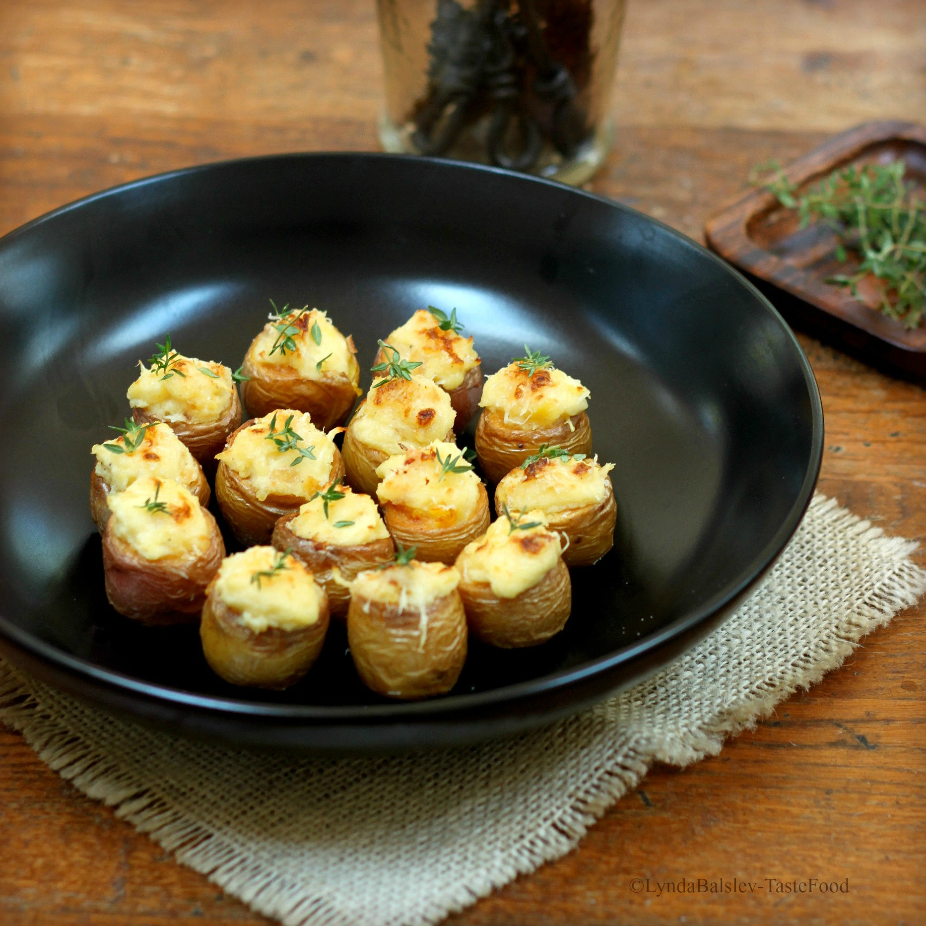 Prosciutto Potato Poppers Recipes — Dishmaps