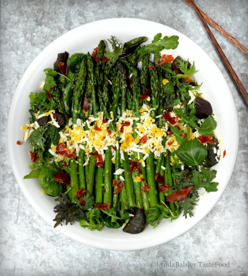 Asparagus salad tastefood