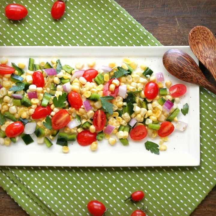 玉米番茄沙拉