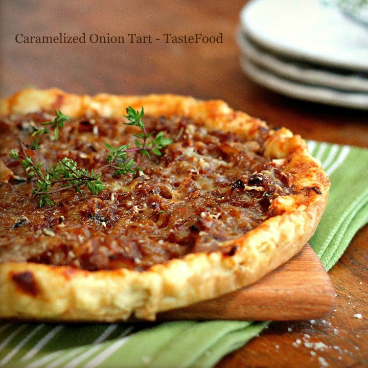 onion tart tastefood