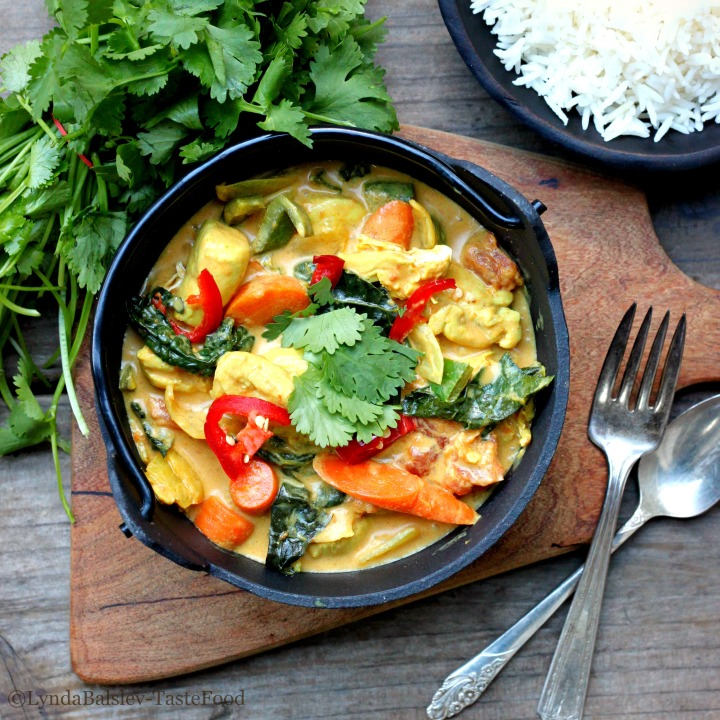 coconut curry tastefood