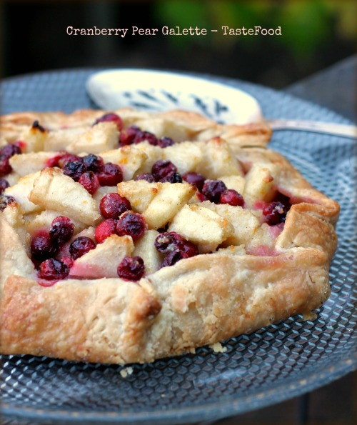 cranberry galette tastefood