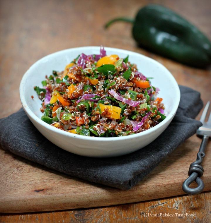 quinoa salad tastefood