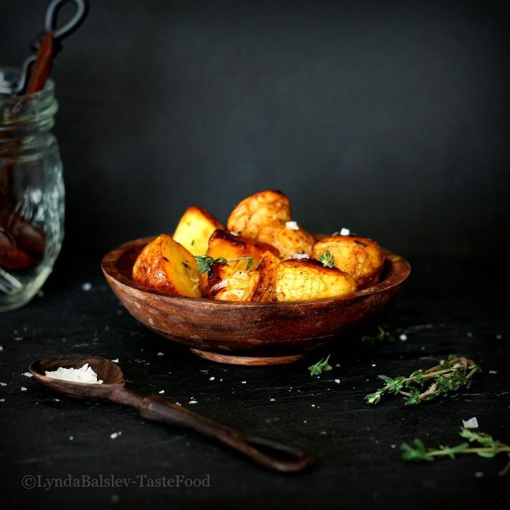 Potatoes Sea Salt Thyme TasteFood