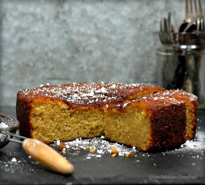 Orange Cardamom Tea Cake