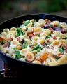 Easy Carbonara Pasta with Asparagus