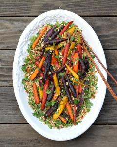 Carrot Couscous Salad Platter