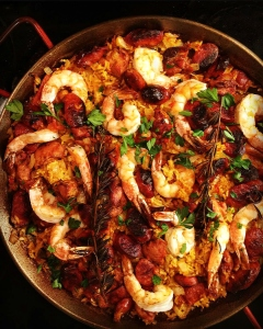 Father's Day Paella - on the Grill