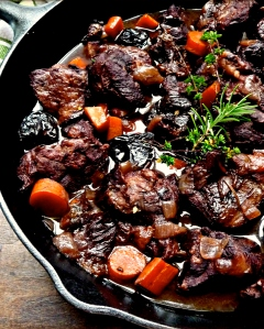 Pork Stew with Prunes and Armagnac