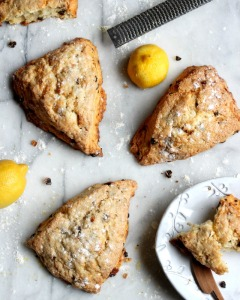 Currant Scones with Lemon