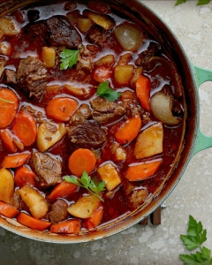 Beef Stew with Stout Beer