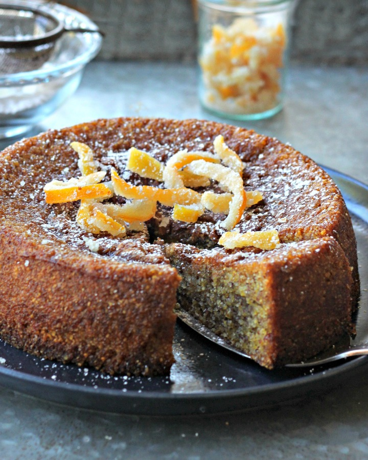 Gluten-free Lemon Olive Oil Cake